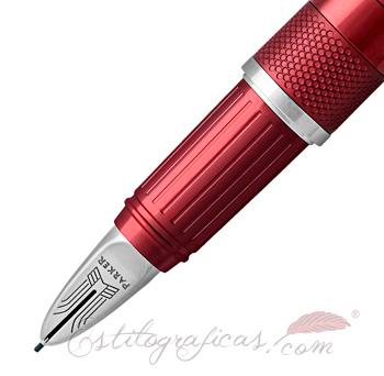 Punta Parker Ingenuity Deluxe Rojo Intenso