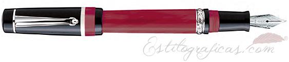Pluma Estilográfica Delta Passion Rojo