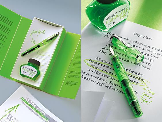 Estilográfica Pelikan Classic M 205 DUO Verde