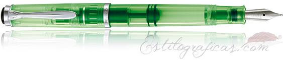 Estilográfica Pelikan Classic M 205 DUO Shiny Green