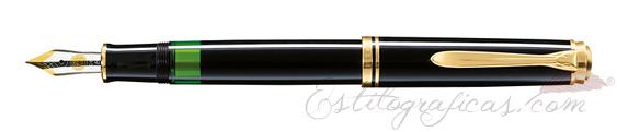 Pluma estilográfica Pelikan Souverän M 600 Negra