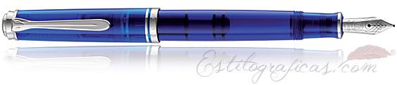 Estilográfica Souverän M605 Azul Marine Blue