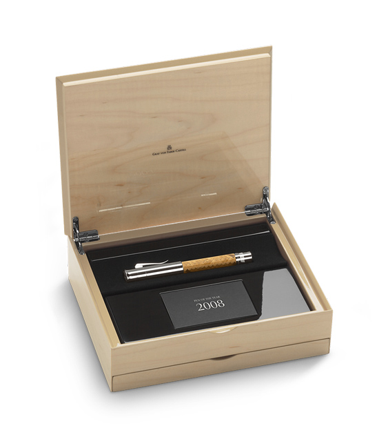 Caja presentación Estilográfica Graf von Faber-Castell Pen of the Year 2008