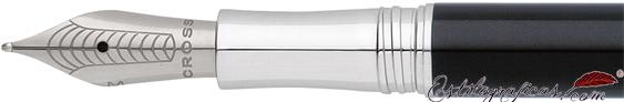 Plumín de pluma estilográfica Cross Classic Century laca negra