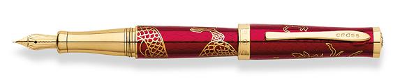 Pluma estilográfica Cross Year of the Dragon Roja