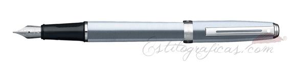 Pluma estilográfica Sheaffer Prelude Cromo Cepillado 340-0