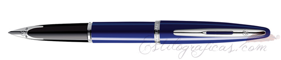 Pluma estilográfica Waterman Carène Laca Azul Brillante