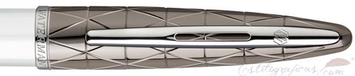 Anillo de pluma estilográfica Waterman Carene Contemporary Blanco