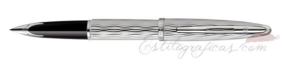 Plumas estilográficas Waterman Carène Essential Plata con adornos paladiados