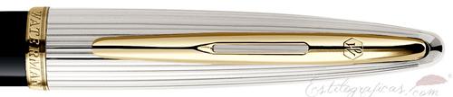 Anillo de pluma estilográfica Waterman Carene Deluxe Negra