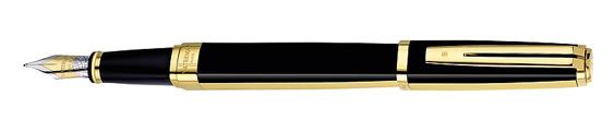 Plumas estilográficas Waterman Exception Night and Day GT adornos dorados