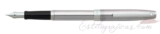Pluma estilográfica Sheaffer Sagaris Cromo Pulido Gris CT 9472