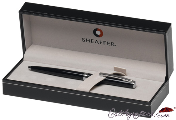 Estuche de bolígrafos Sheaffer Sagaris, pieza cromada