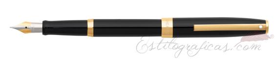 Pluma estilográfica Sheaffer Sagaris Negra GT 9471