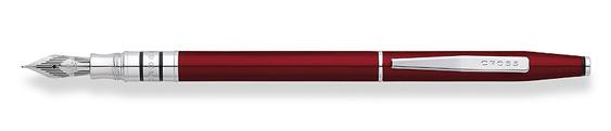 Plumas estilográficas Cross Spire Enlacada en Rojo