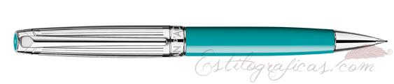 Portaminas Caran d'Ache Léman Bicolor Turquoise 4769-171