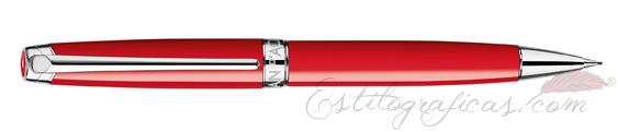 Portaminas Caran d'Ache Léman Scarlet Red 4769-770