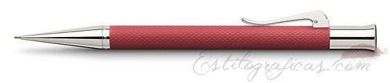 Portaminas Graf von Faber-Castell Guilloche Coral 136533