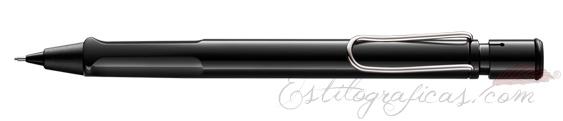 Portaminas Lamy Safari Negro Brillante Mod. 119  1328022