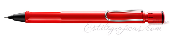 Portaminas Lamy Safari Rojo Brillante Mod. 116  1328025