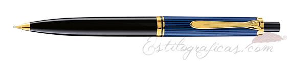 Portaminas Pelikan Souverän D 400 Azul, Negro y Oro 985390