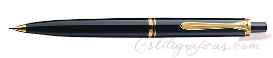 Portaminas Souverän D 400 Negro y Oro 985374 de Pelikan