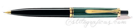 Portaminas Pelikan Souverän D 400 Verde, Negro y Oro 985382