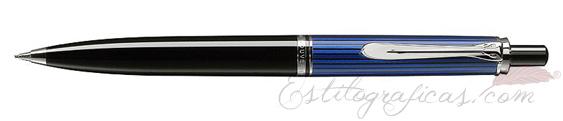 Portaminas Pelikan Souverän D 405 Negro, Azul y Plata 932632