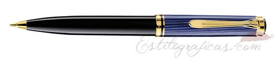 Portaminas Pelikan Souverän D 600 Azul y Negro 988352