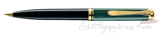 Portaminas Pelikan Souverän D 600 Negro y Verde 979526