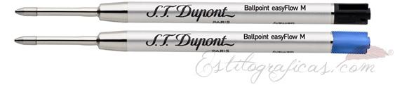 Recambios de bolígrafo S.T. Dupont 040853 y 040854