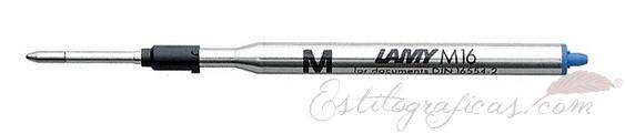 Recambios M16 para bolígrafos Lamy DB00148