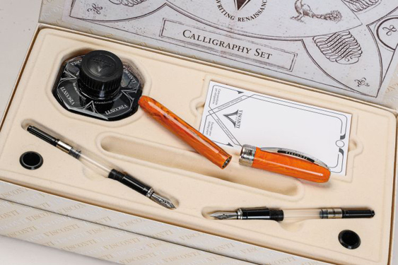 Kit Caligráfico Visconti Rembrandt Naranja