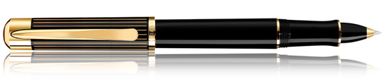Pelikan Rollerball Ductus P 3100 Negro y Oro