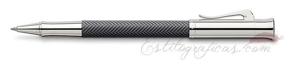 Roller Graf von Faber-Castell Guilloche Ciselé Gris Antracita 146710