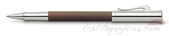 Roller Graf von Faber-Castell Guilloche Coñac