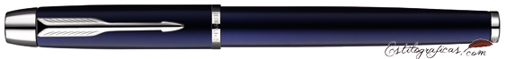Rollerball Parker IM Blue CT, azul CT, cerrado