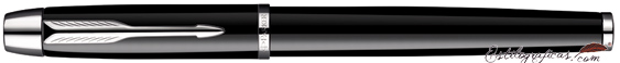 Rollerball Parker IM Negro CT, chrome trim, cerrado