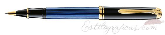Roller Pelikan Souverän R 800 Azul y Negro 988006