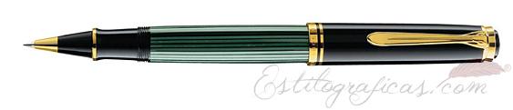 Roller Pelikan Souverän R 800 Verde y Negro 987990