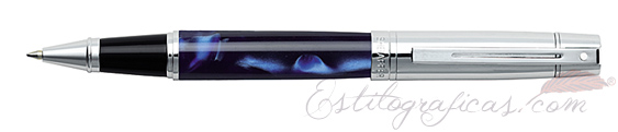 Rollerball Sheaffer Gift 300 Azul y Cromo 9316-1