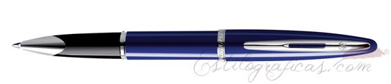 Rollerball Waterman Carene Laca Azul Brillante