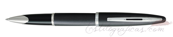 Rollerball Waterman Carene Laca Gris Carbón
