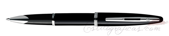 Rollerball Waterman Carene Black Sea Silver Trim (ST)