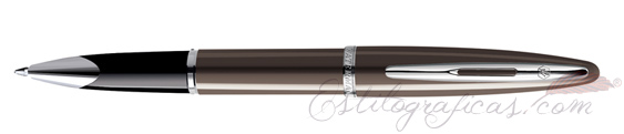 Rollerball Waterman Carene Laca Marrón Brillante
