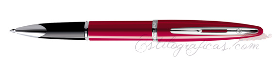 Rollerball Waterman Carene Laca Roja Brillante