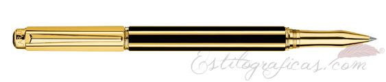 Rollerball Caran d'Ache Varius Chinablack Gold 4470-018