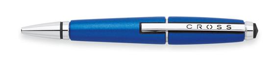Roller Cross Edge resina azul nitro y detalles cromados cerrado