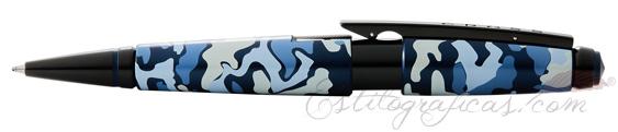 Rollerball Cross Edge Camuflaje Azul AT0555-15