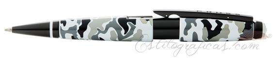 Rollerball Cross Edge Camuflaje Blanco y Negro AT0555-18